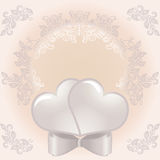 Wedding frame Royalty Free Stock Images