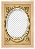 Wedding frame. Beautiful frame box on the wedding picture Vector Illustration