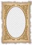 Wedding frame. Beautiful frame box on the wedding picture Stock Illustration