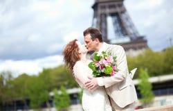 Wedding in Frankreich Stockbild