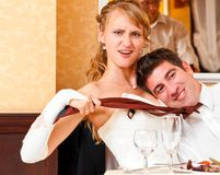 Wedding fun Royalty Free Stock Photography