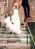 Wedding fun balance Stock Photos