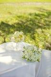 Wedding in the garden Stock Images