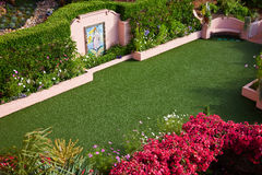 Wedding Garden Chapel Royalty Free Stock Photo