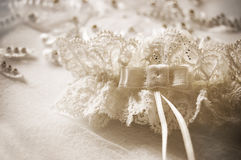 Wedding garter Stock Photos
