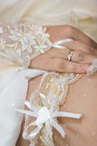 Wedding garter Royalty Free Stock Image