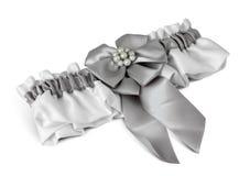 Wedding garter on white Royalty Free Stock Images