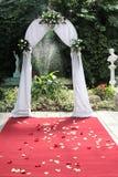 Wedding gates. To Paradise garden Stock Image