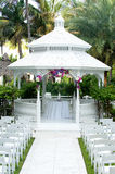 Wedding gazebo Stock Photo