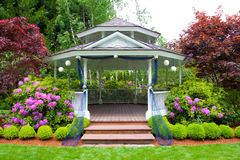 Wedding Gazebo Stock Photos
