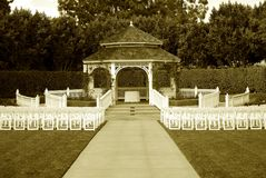 Wedding Gazebo Royalty Free Stock Photos