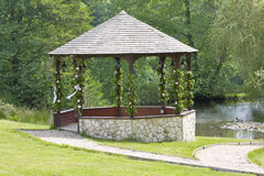 Wedding gazebo Royalty Free Stock Photography