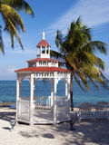 Wedding Gazebo on the beach Royalty Free Stock Photography