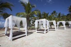 Wedding Gazebo on the Beach Royalty Free Stock Image