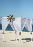 Wedding Gazebo On The Beach Stock Photos