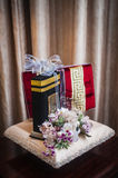 Wedding Gift Decoration Royalty Free Stock Photos