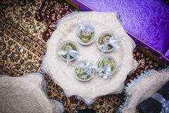 Wedding Gift Decoration Royalty Free Stock Photography