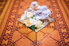 Wedding Gift Decoration Stock Photography