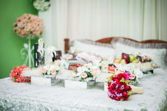 Wedding Gift Decorations Royalty Free Stock Photography