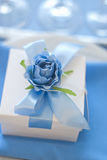 Wedding gift for guest. Candy box Stock Image