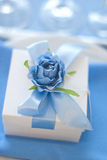 Wedding gift for guest. Candy box Stock Photos