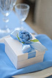 Wedding gift for guest. Candy box Stock Photography