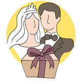Wedding Gift Stock Photo