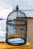 Wedding Gift Table Birdcage Card Holder Royalty Free Stock Photo