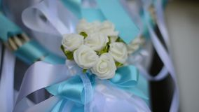 Wedding gifts for friends and detail of the decoration