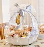 Wedding gifts for guest. In a decorated bowl , image of a royalty free stock photo