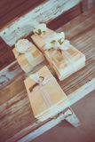 Wedding Gifts. Small Little Packages - Wedding Gifts Royalty Free Stock Images