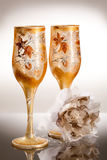 Wedding Glasses Royalty Free Stock Photo