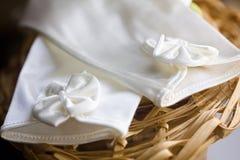 Wedding glovers stock photography