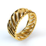 Wedding gold ring Royalty Free Stock Image