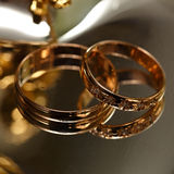 Wedding gold ring Royalty Free Stock Photo