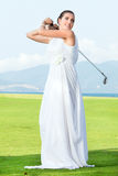 Wedding golf Stock Photos
