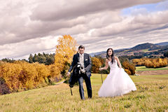Wedding golf Stock Photo