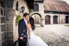 Wedding golf Stock Image