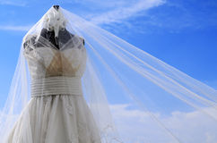 Wedding Gown Royalty Free Stock Images