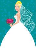 Wedding Gown 3 Royalty Free Stock Photo