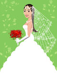 Wedding Gown 5 Royalty Free Stock Images