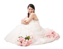 Wedding gown Stock Photo
