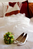 Wedding gown Royalty Free Stock Photography