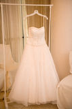 Wedding gown Royalty Free Stock Photos