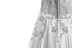 The Wedding Gown Royalty Free Stock Photos