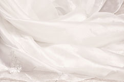 Wedding Gown Texture Royalty Free Stock Photo