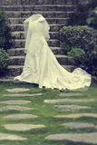 Wedding Gown Vintage Royalty Free Stock Photography