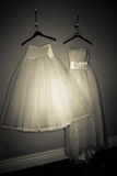 Wedding gowns Royalty Free Stock Photography