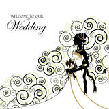 Wedding graphic Stock Photography