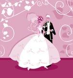 Wedding Graphic Wedding Couple Stock Photos